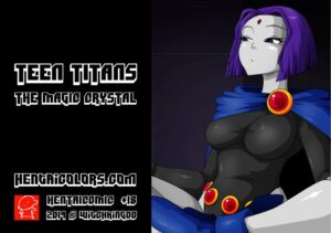 Teen Titans the magic crystal