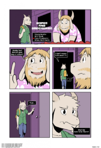 Porn comic Hopes And Dreemurrs from category undertale, porn-comics with tags yaoi, males only, Incest, furry, father, bbm, anal sex