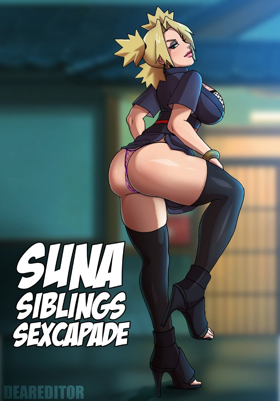 Porn comic Suna Siblings Sexcapade from category naruto with tags sister, Incest, impregnation, big breasts