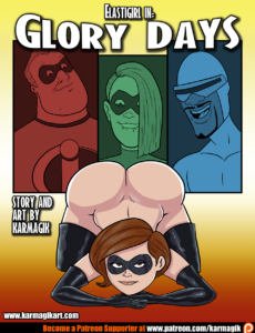 Elastigirl in Glory Days