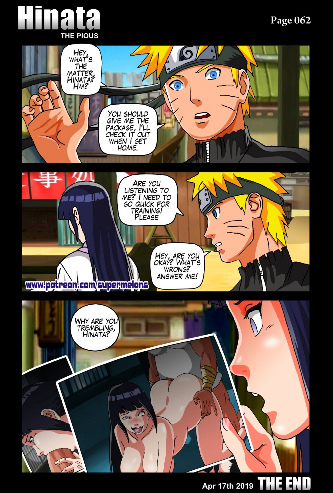 Porn comic Hinata - The pious from category naruto with tags Stockings, nakadashi, Group sex, cheating, big penis, big breasts, bbm