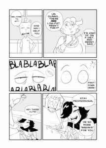 Porn comic MetaBurger from category undertale, porn-comics with tags yaoi, furry, blowjob