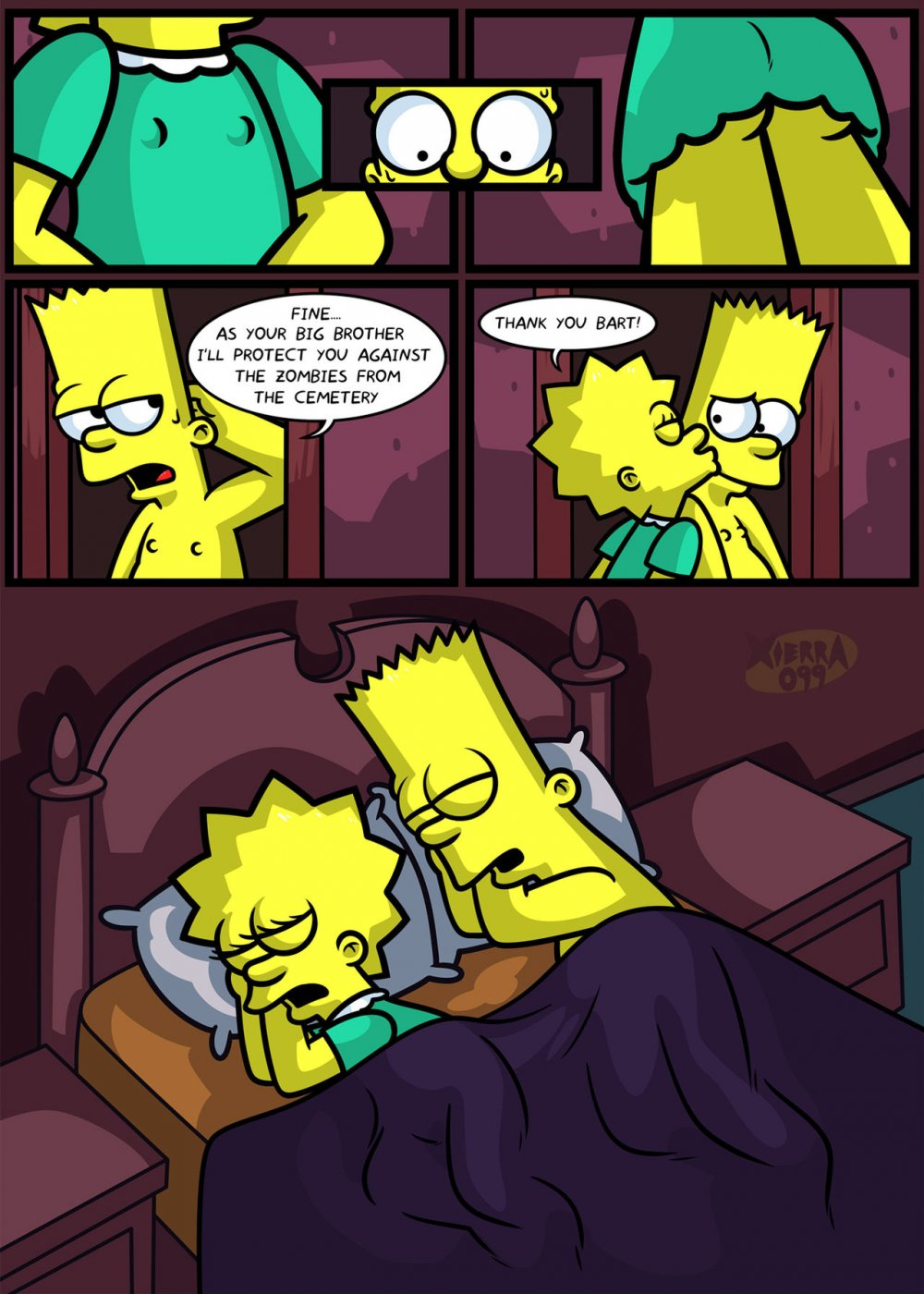 The not so Treehouse of Horror porn comic - the best cartoon porn comics,  Rule 34 | MULT34