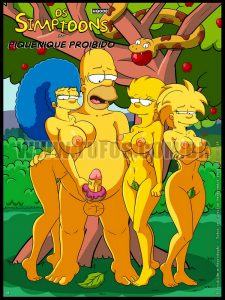 The Simpsons  – Forbidden Picnic