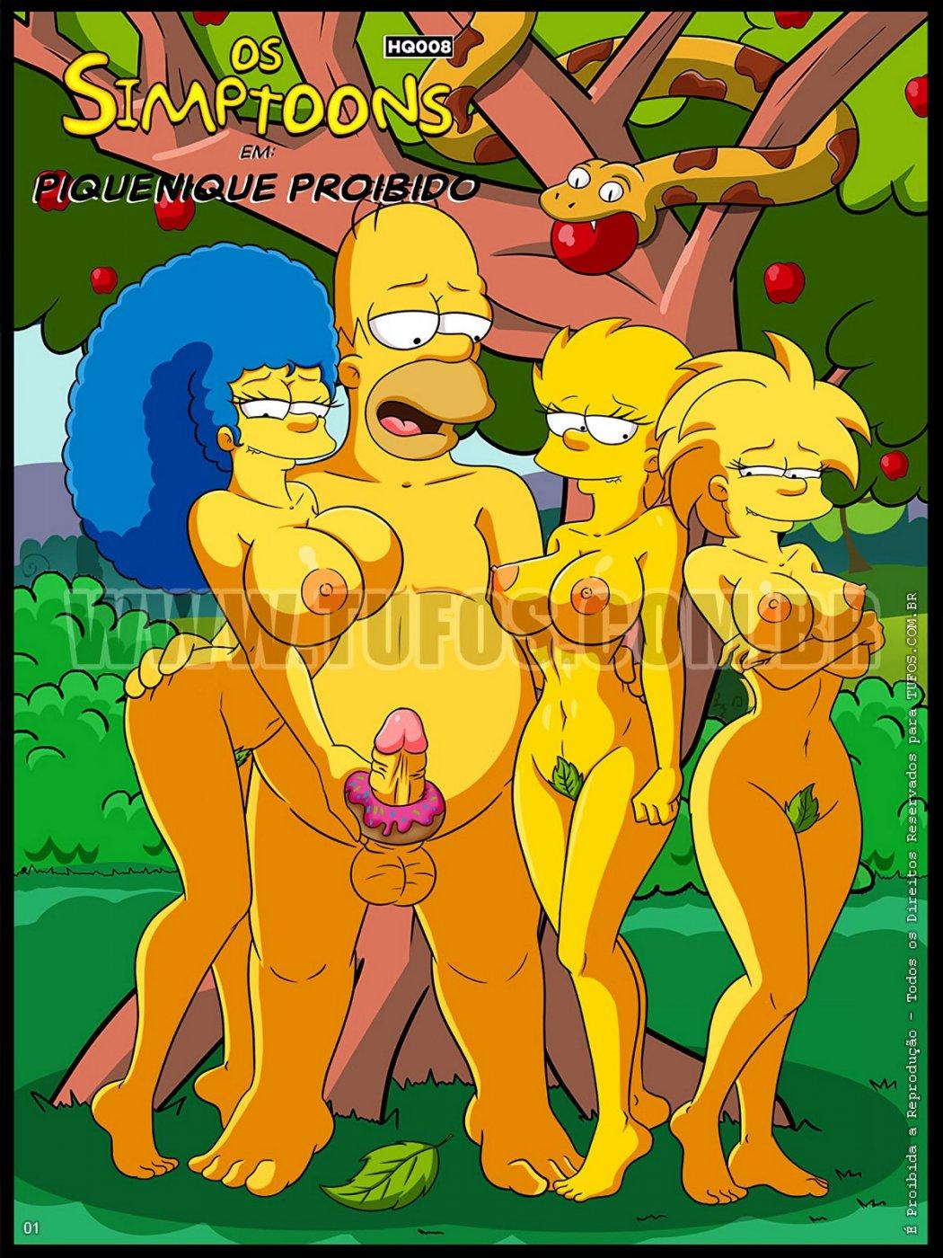 3D Porno Simpson the simpsons - forbidden picnic porn comic - the best