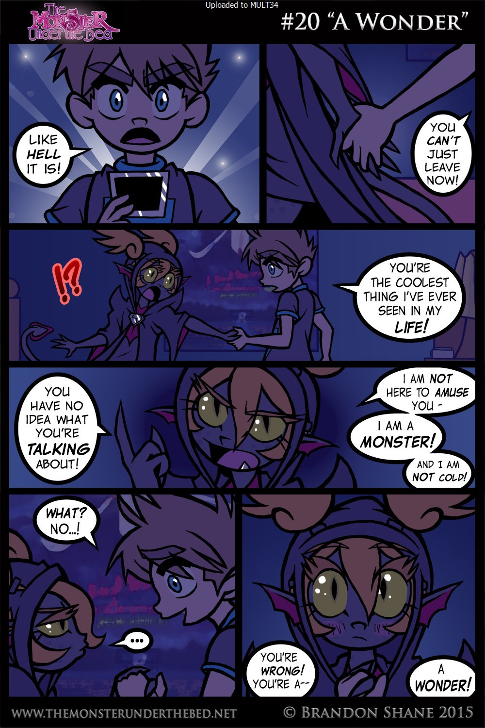 Amazing adult comic The Monster under the bed | Rule 34