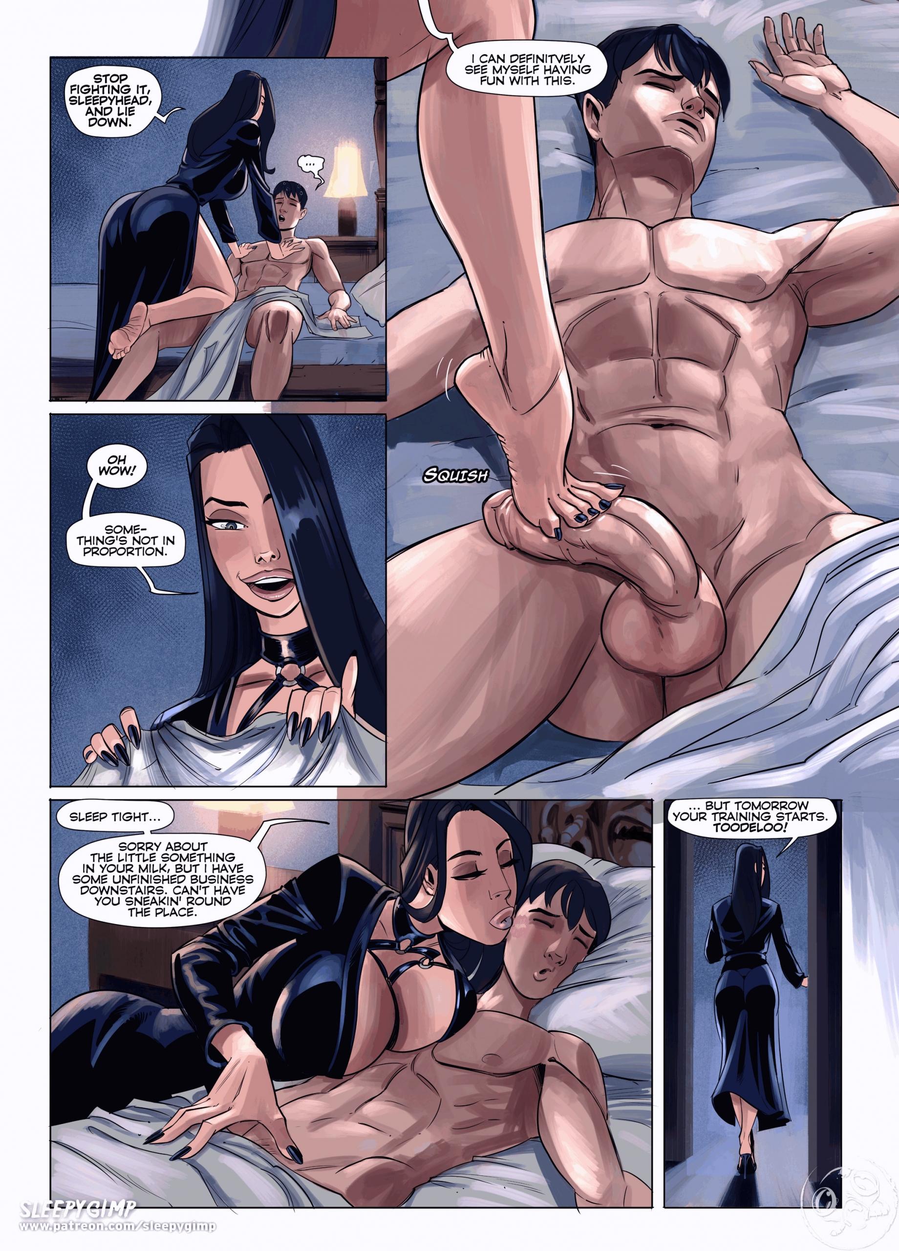 SleepyGimp porn comic page 00011