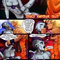 Space Emperor Slut page 001