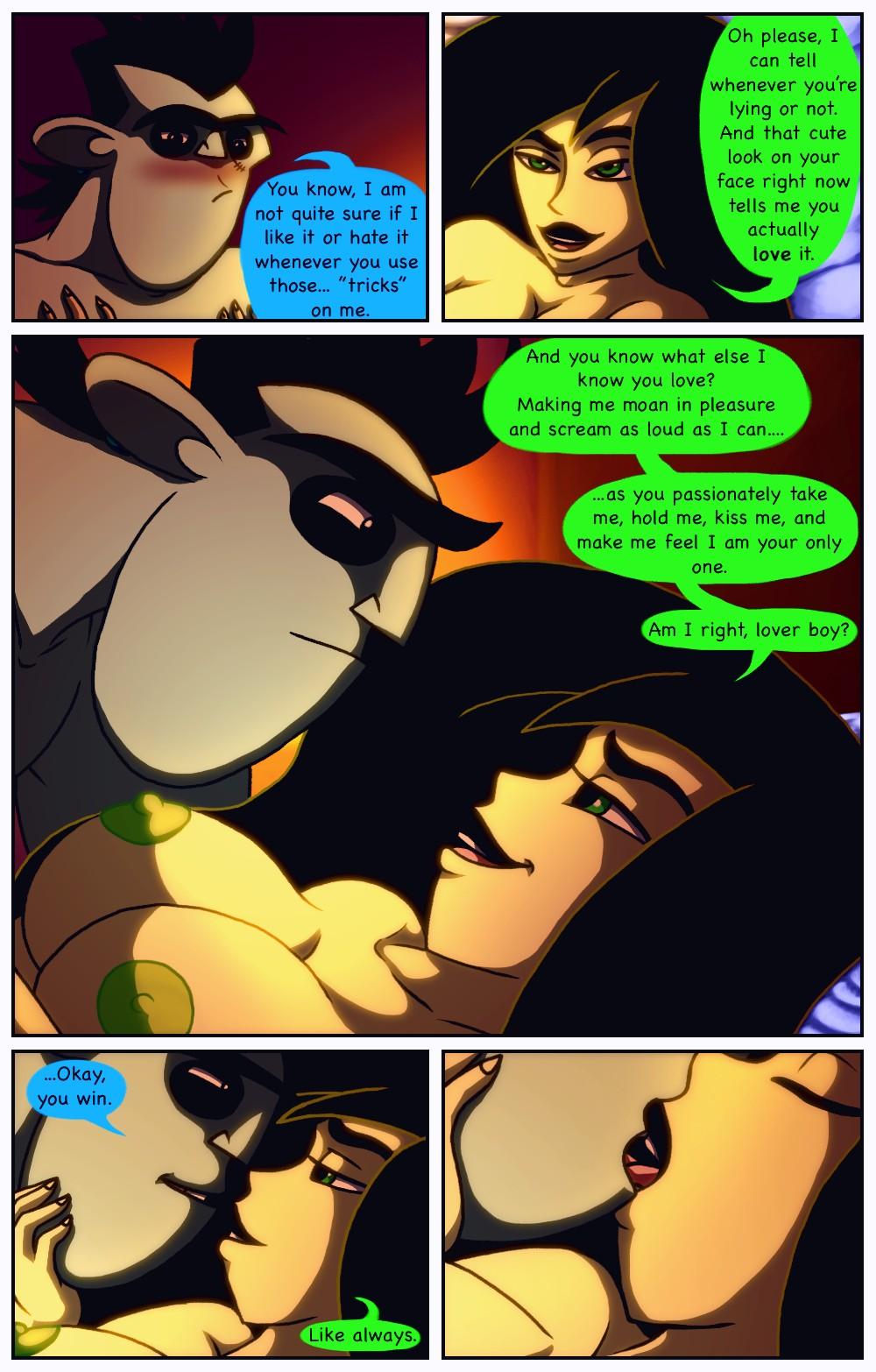 A Dangerous Date 2 porn comic page 014