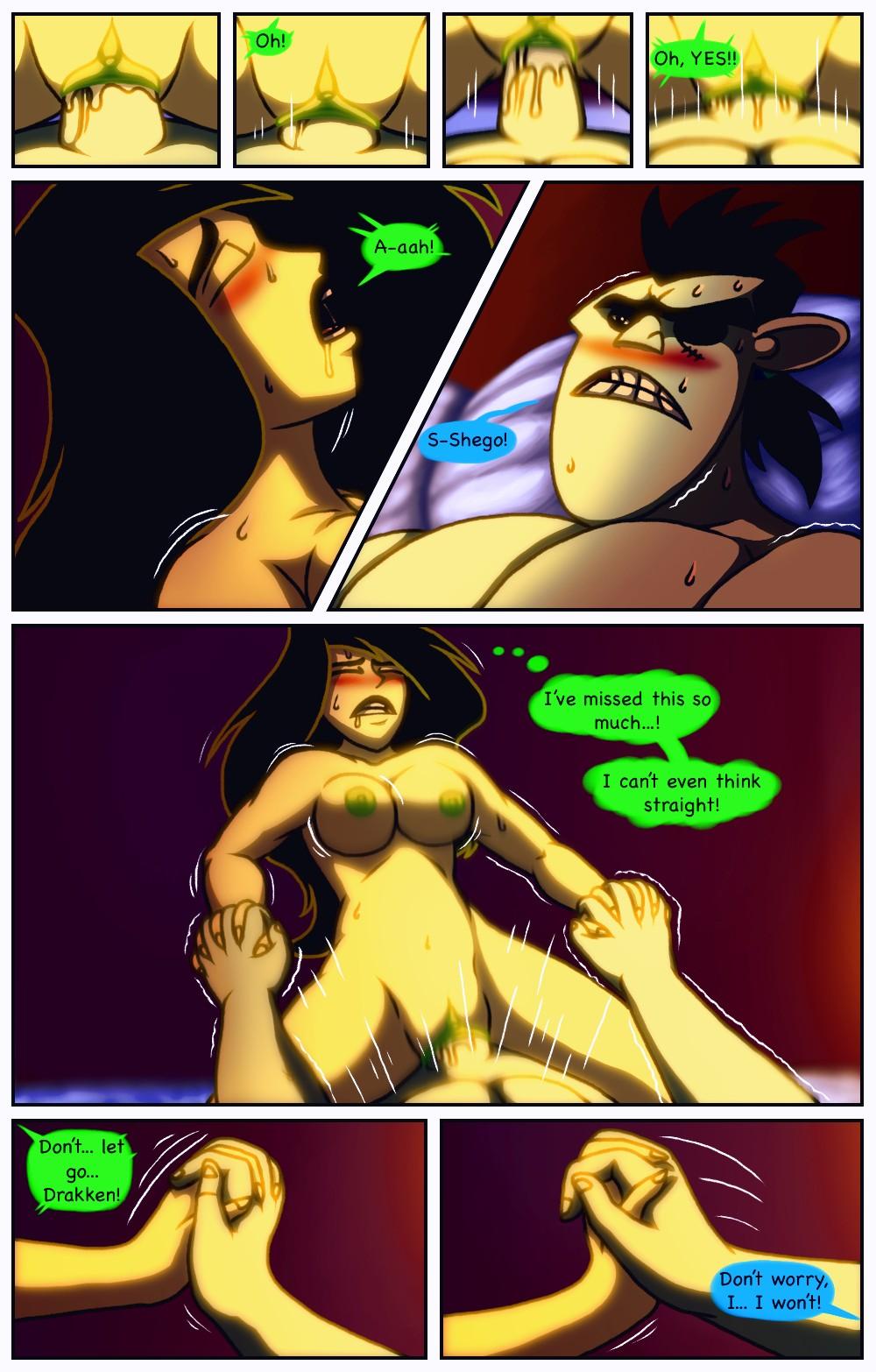 A Dangerous Date 2 porn comic page 023