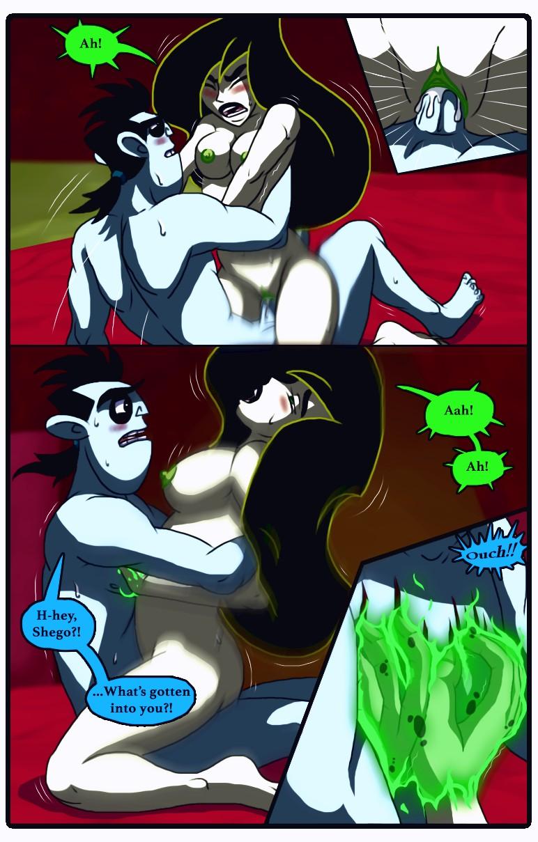 A Dangerous Date porn comic page 011