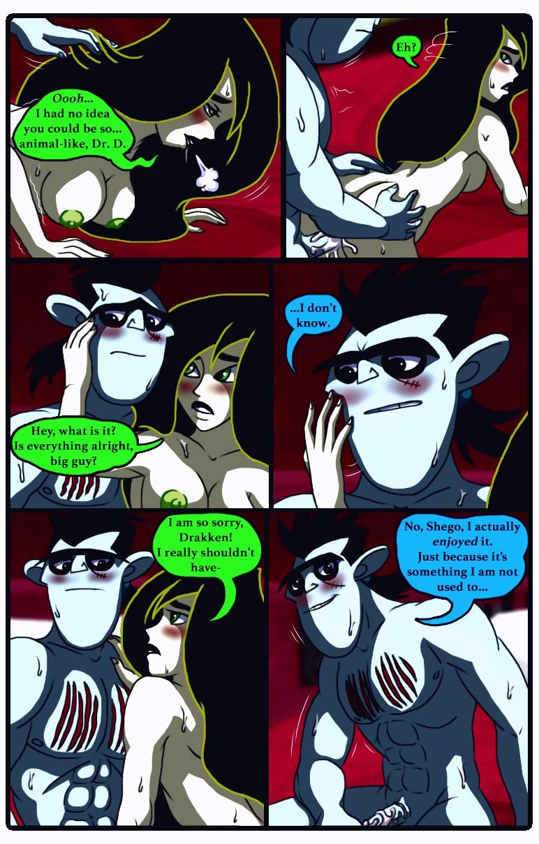 A Dangerous Date porn comic page 017
