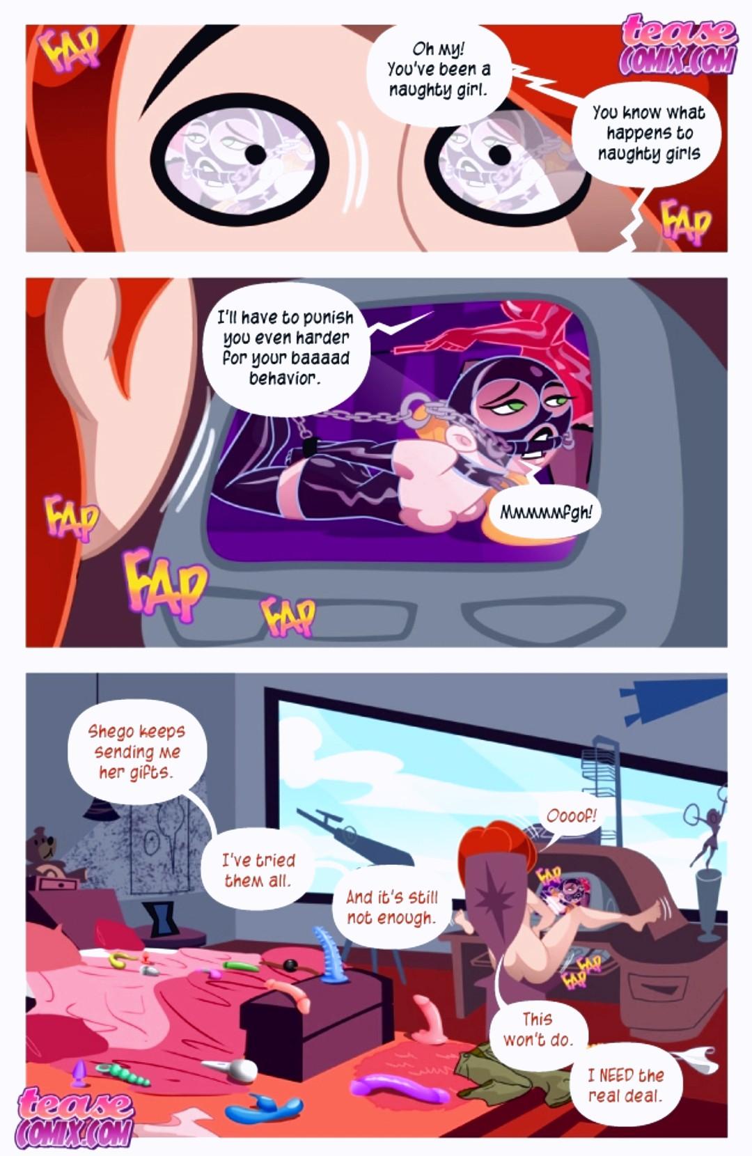 A Villains Bitch porn comic page 079