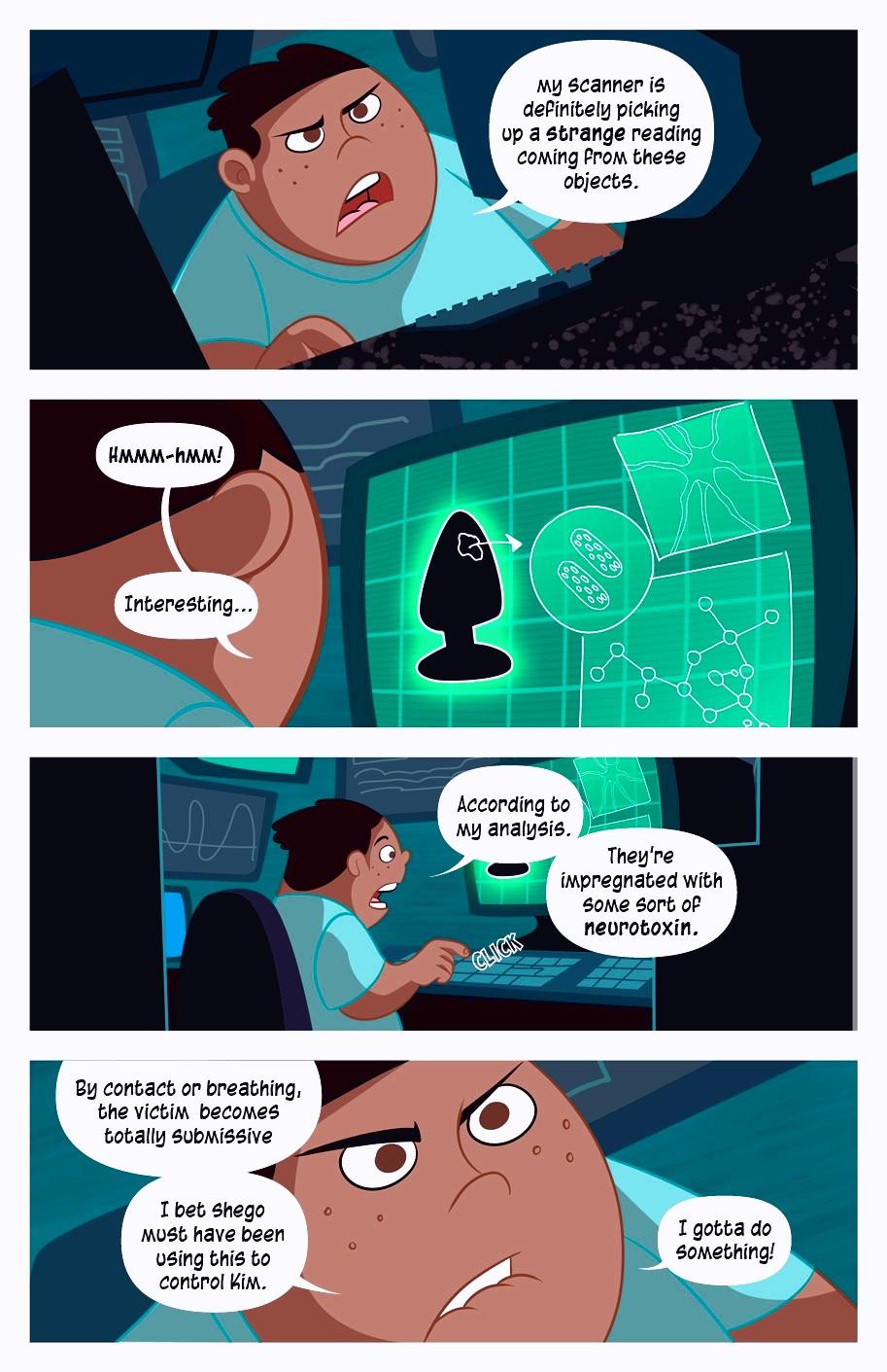 A Villains Bitch porn comic page 093