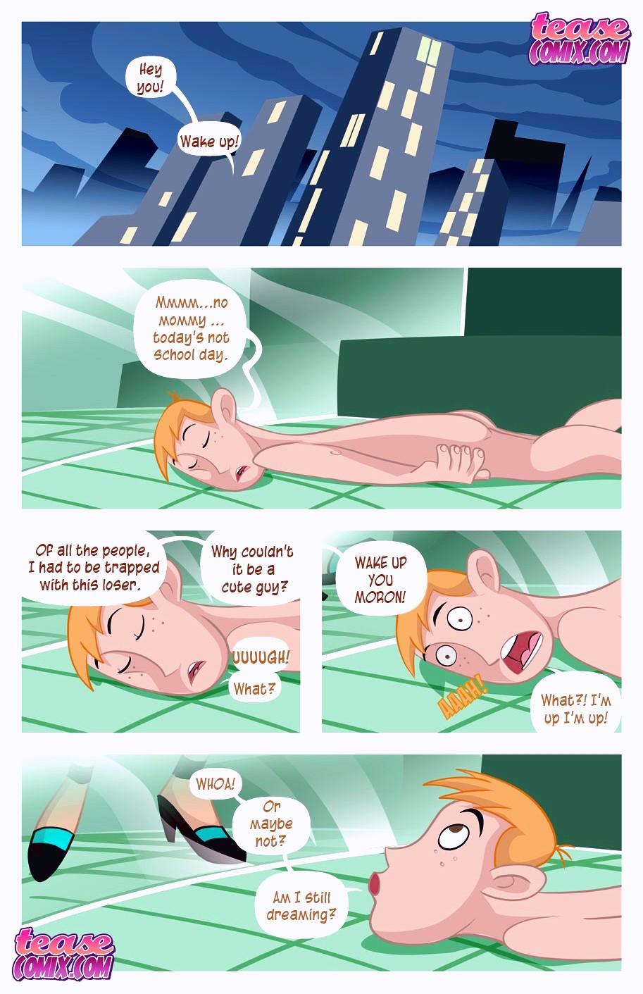 A Villains Bitch porn comic page 097