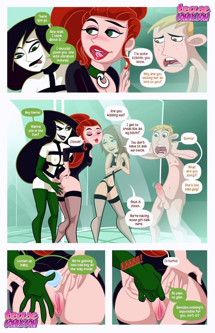 A Villains Bitch porn comic page 105