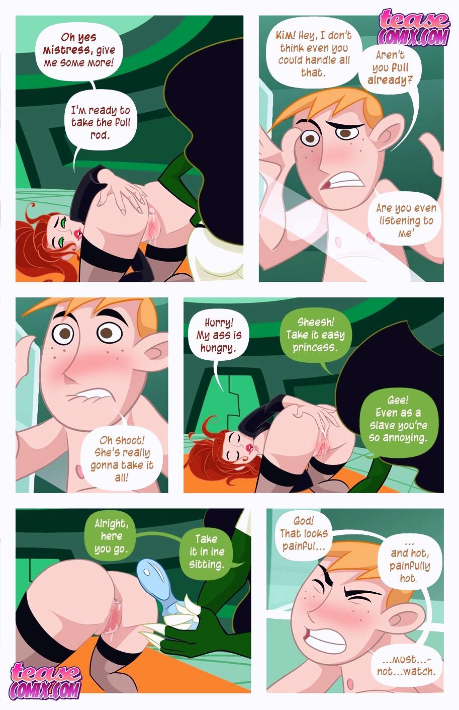 A Villains Bitch porn comic page 122