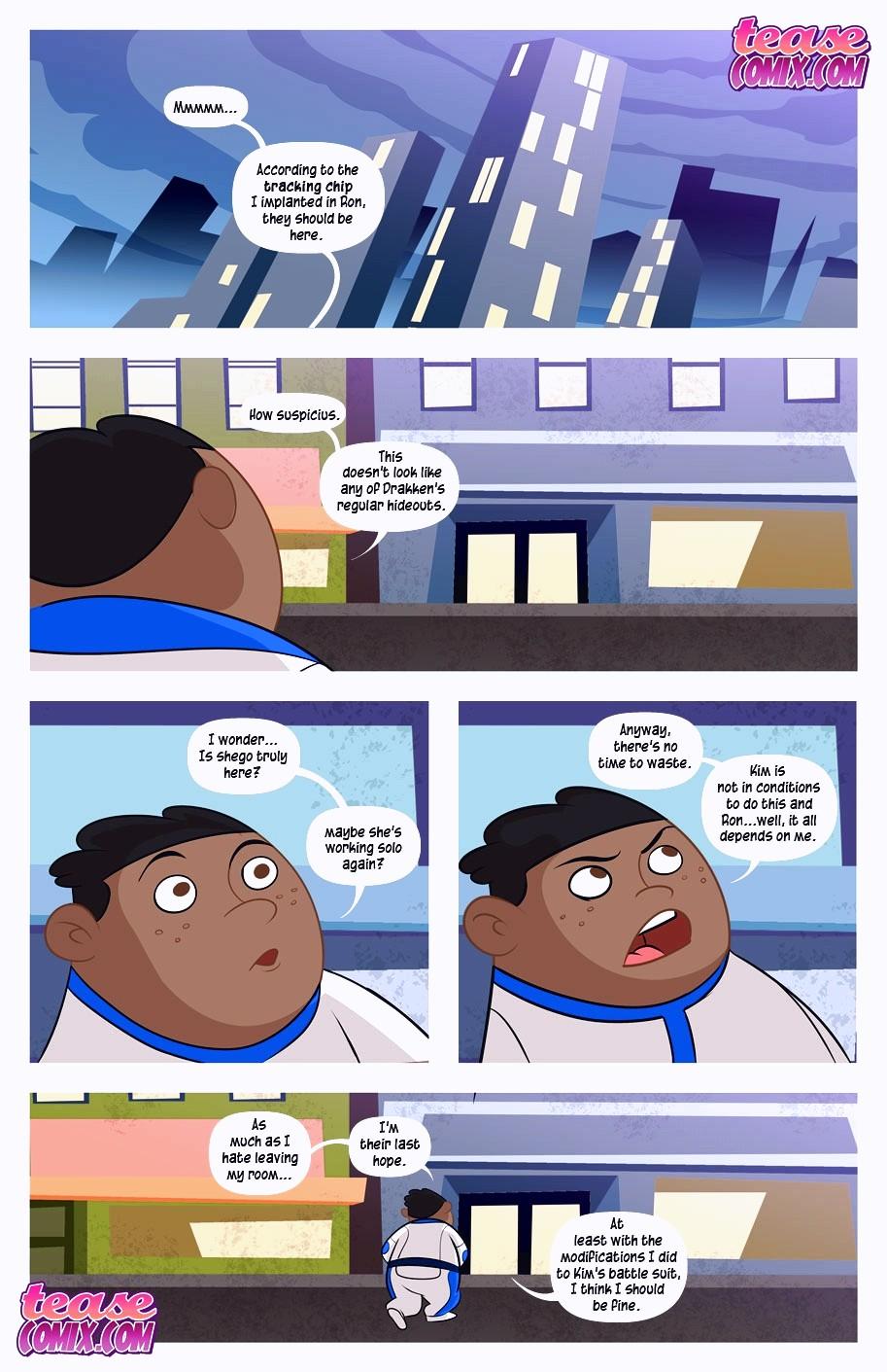 A Villains Bitch porn comic page 136