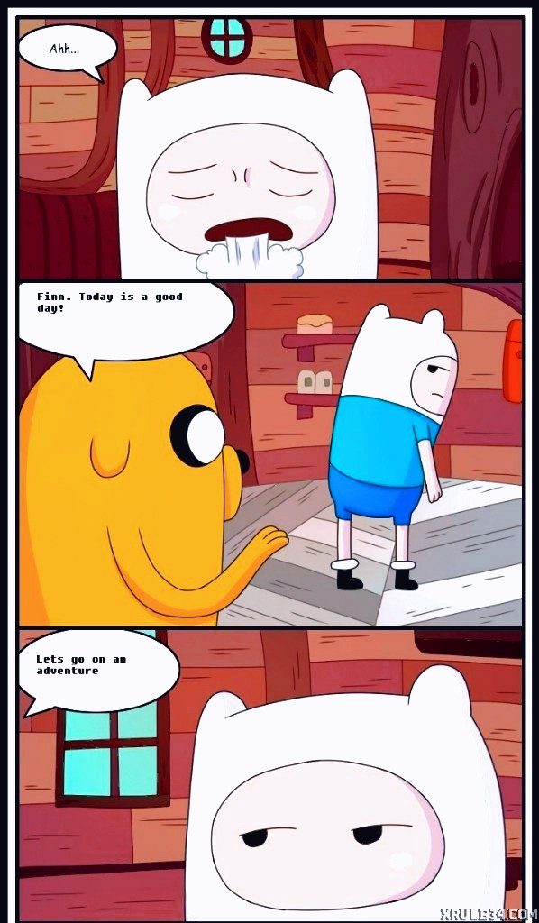 Adult time 3 porn comic page 001 on category Adventure Time
