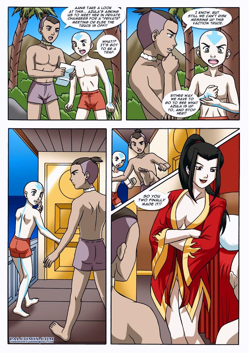 Avatar Bending Break 2 page 16