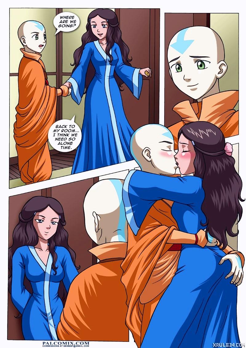 Avatar The Last Jizzbender porn comic page 003