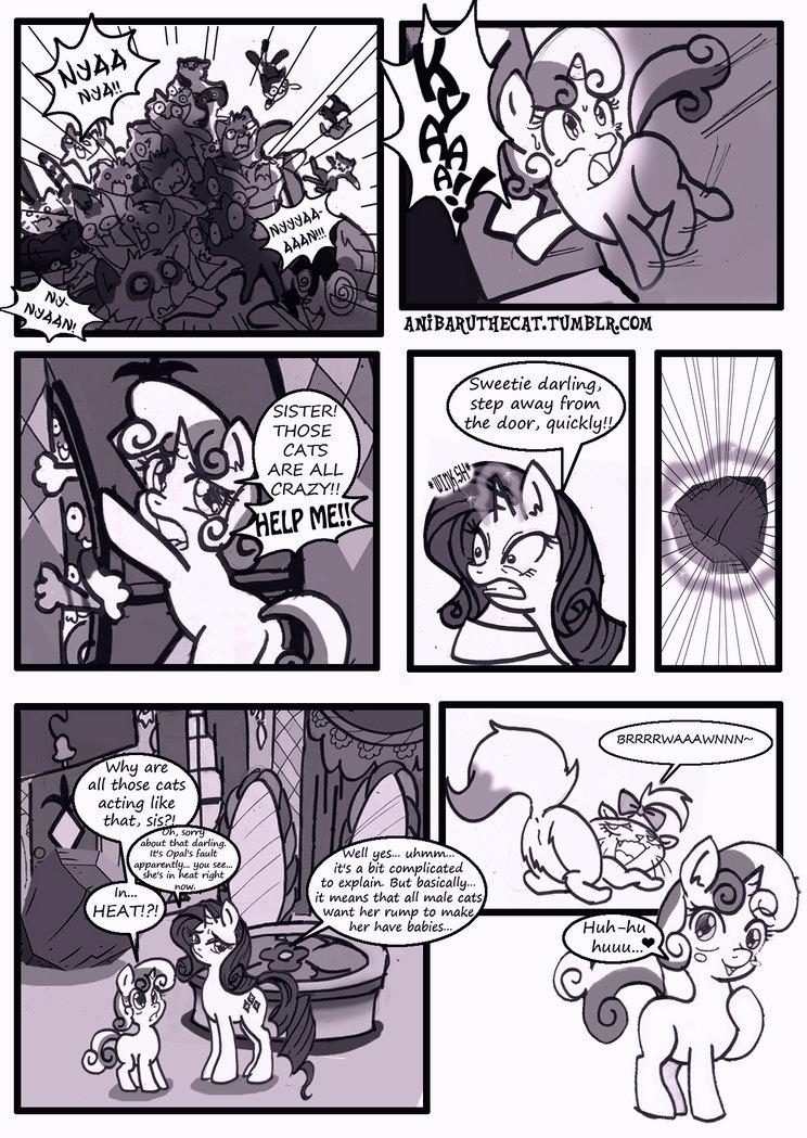 Cat's Delicacy porn comic page 03