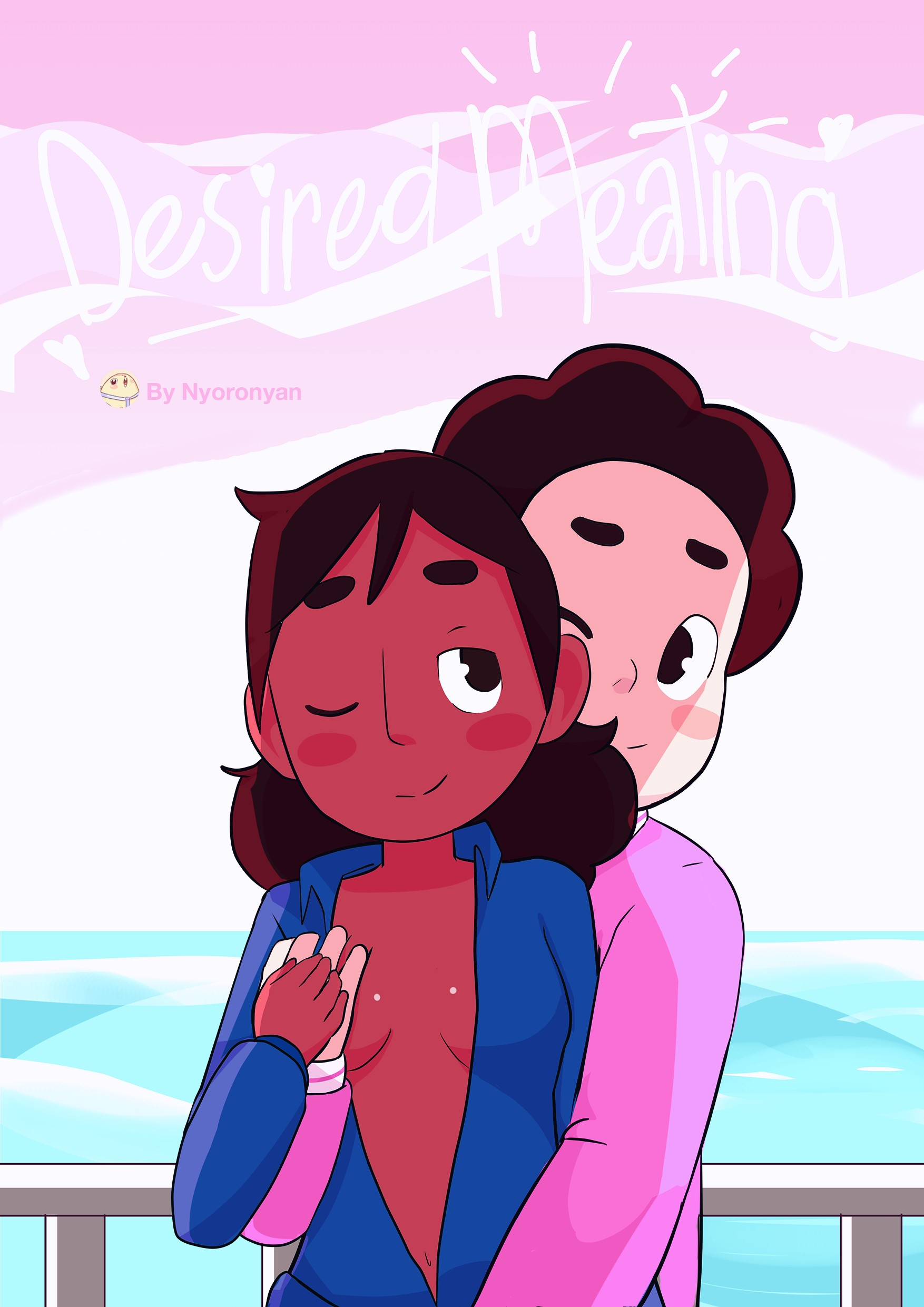 Desired Meating porn comic page 01 on category Steven Universe
