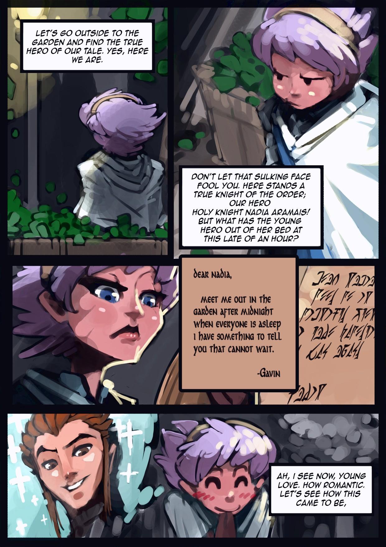 Holy Knight Nadia porn comic page 006
