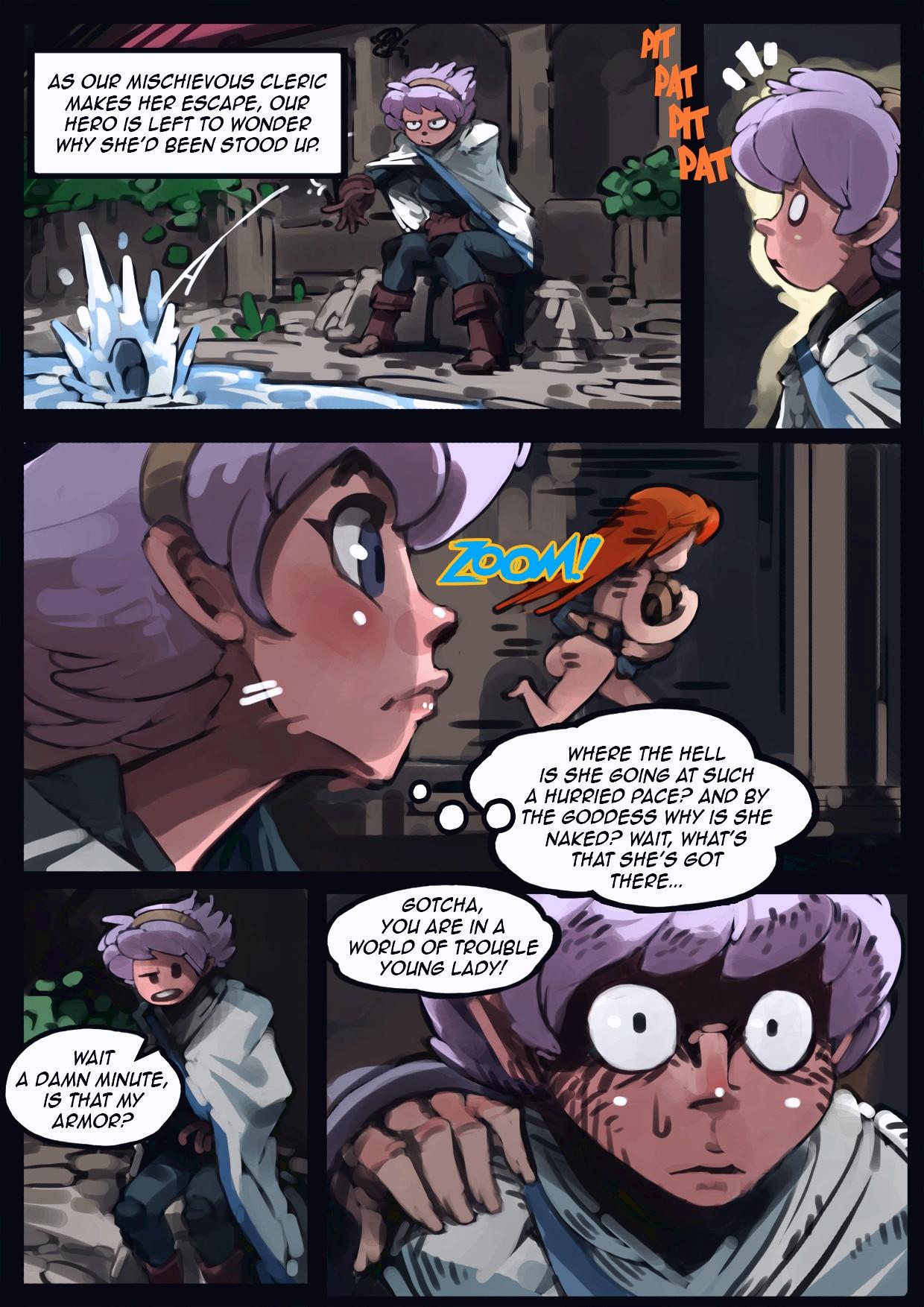 Holy Knight Nadia porn comic page 012