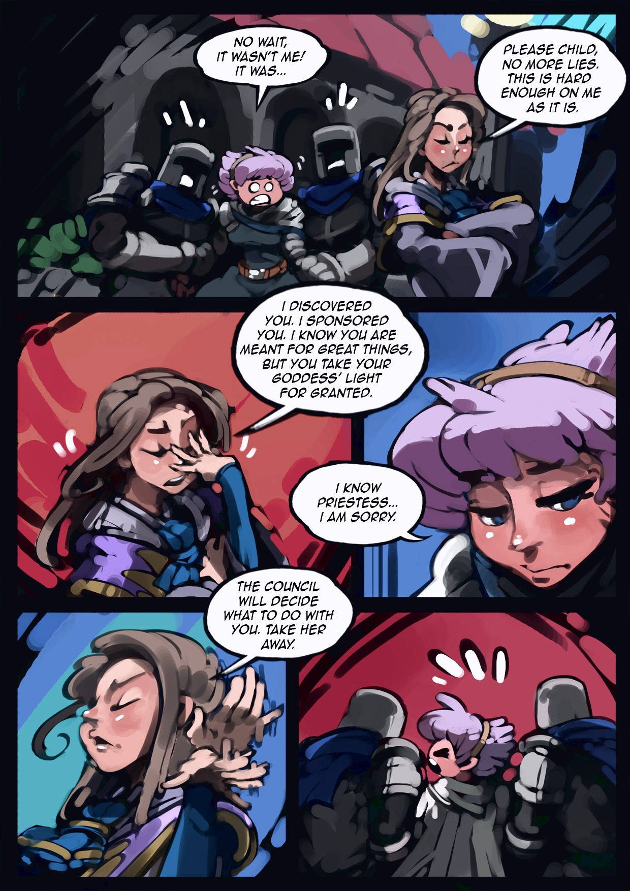 Holy Knight Nadia porn comic page 017