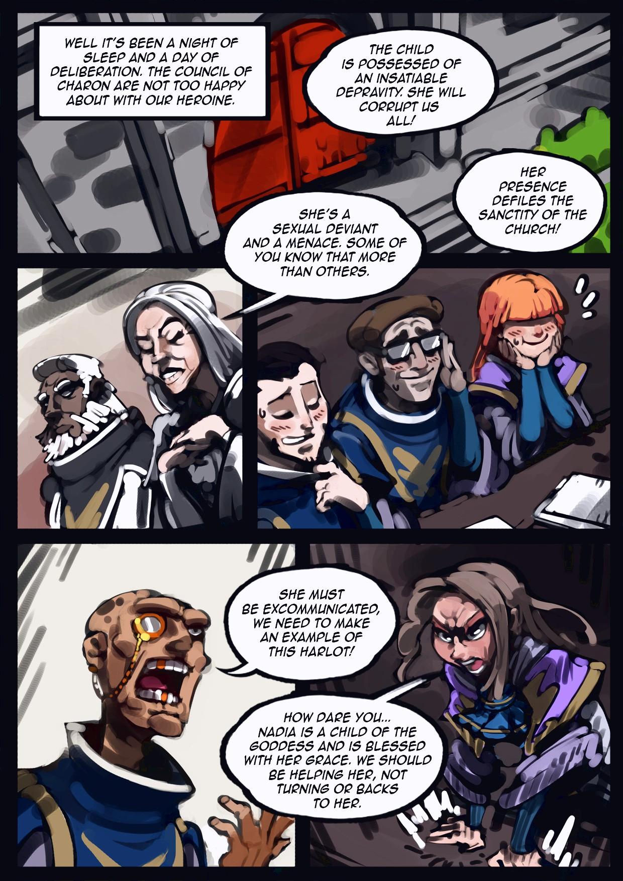 Holy Knight Nadia porn comic page 019