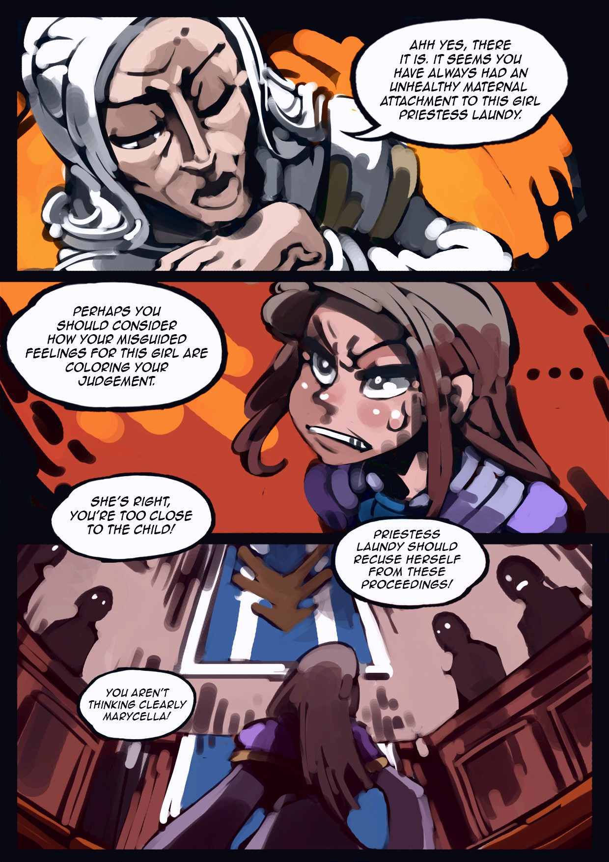 Holy Knight Nadia porn comic page 020