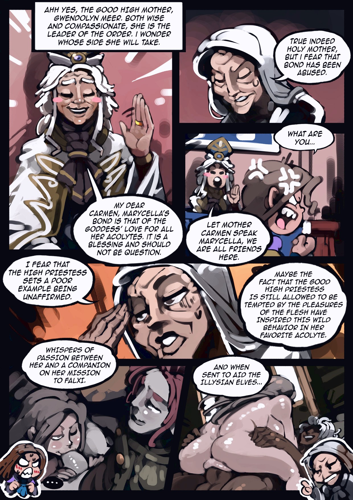 Holy Knight Nadia porn comic page 022