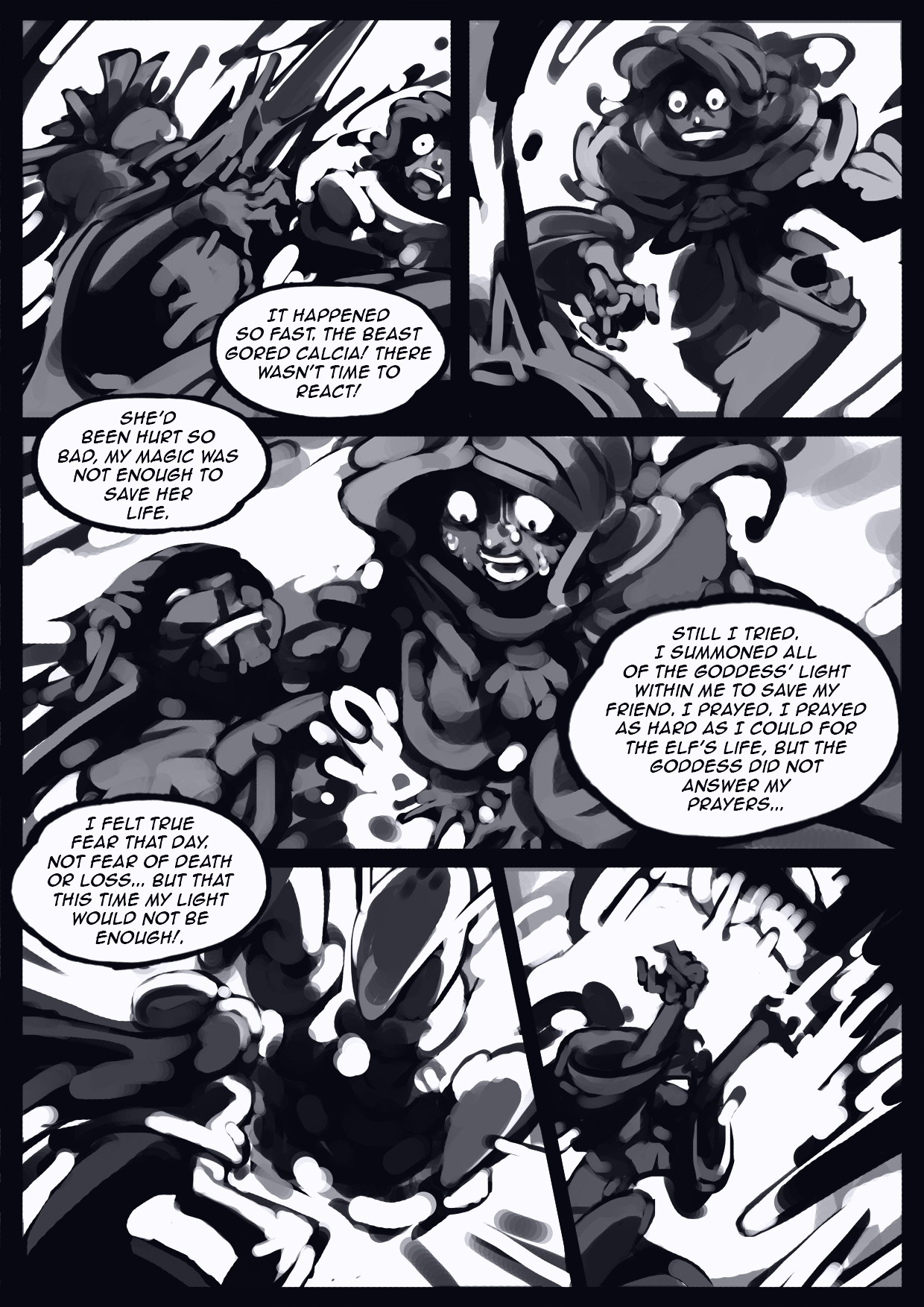 Holy Knight Nadia porn comic page 036