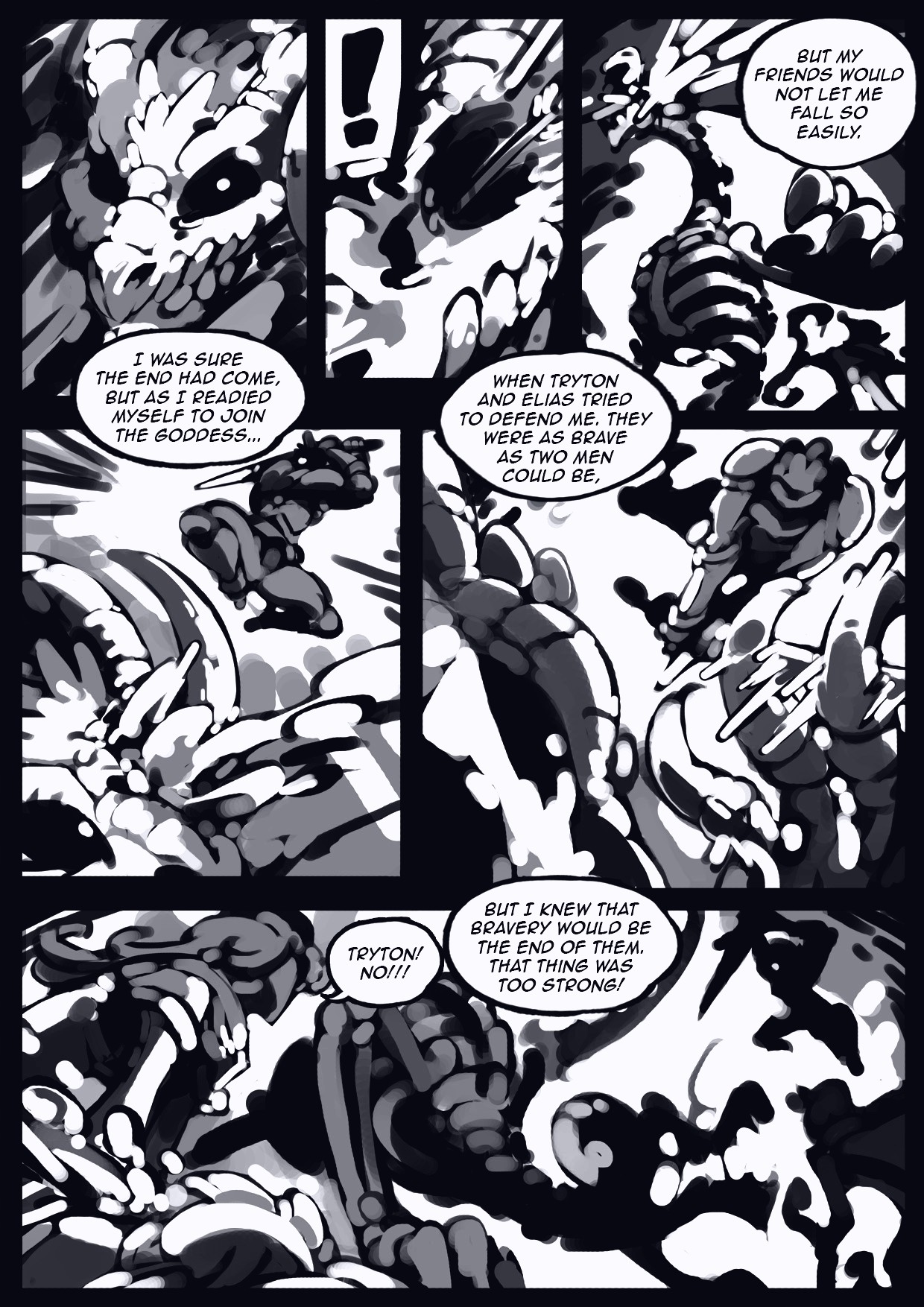 Holy Knight Nadia porn comic page 037