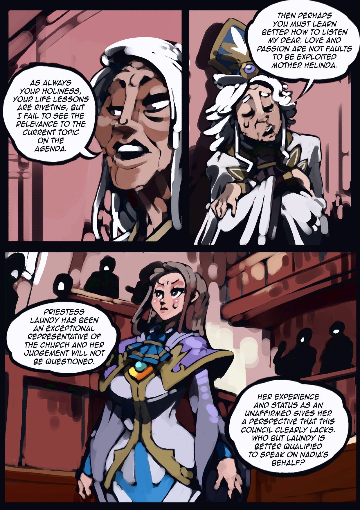 Holy Knight Nadia porn comic page 040