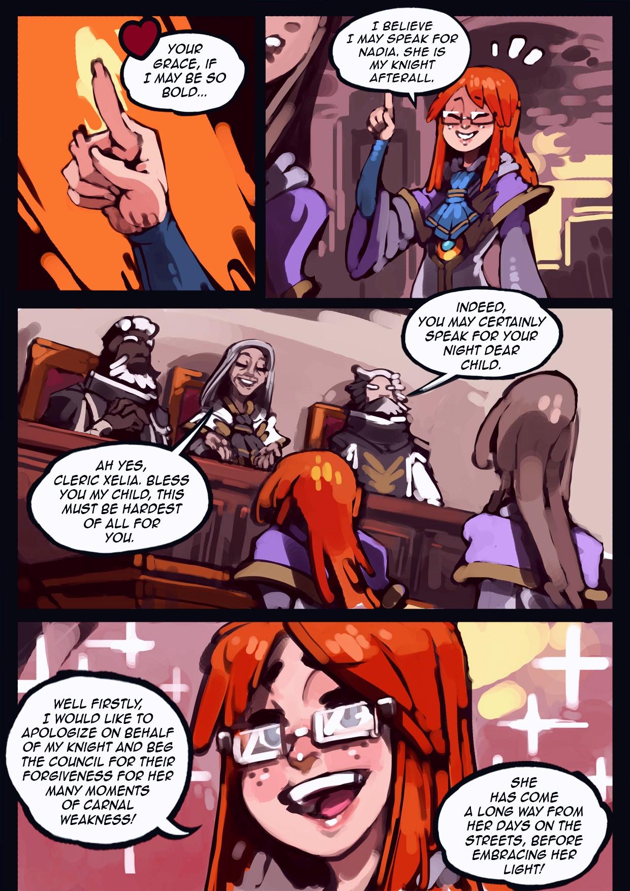 Holy Knight Nadia porn comic page 041