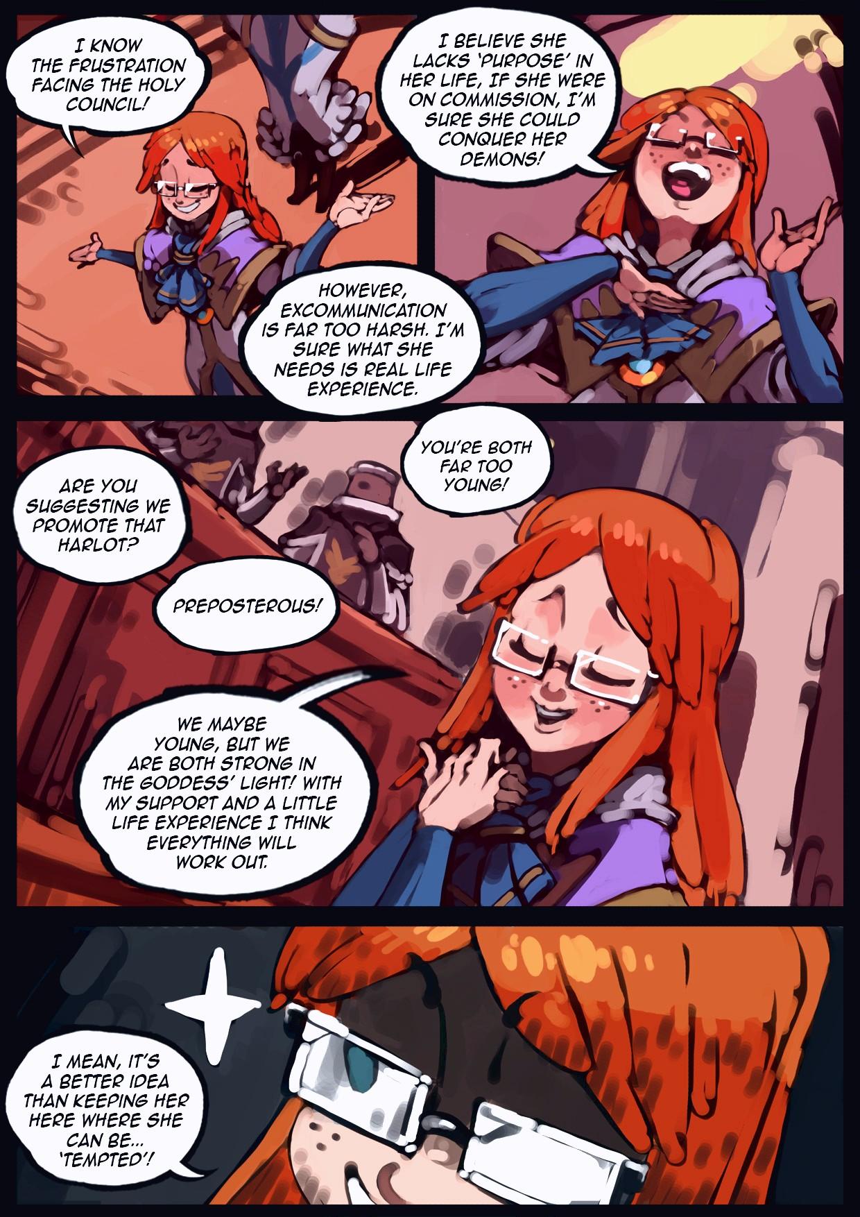Holy Knight Nadia porn comic page 042