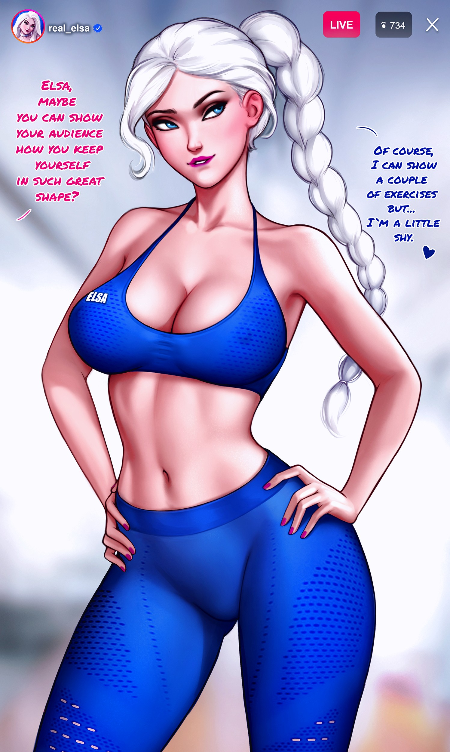 How to train your ass with Elsa page 02