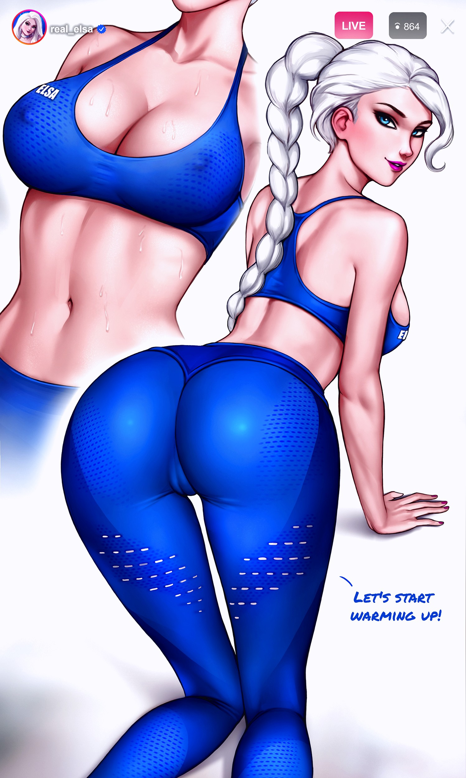 How to train your ass with Elsa page 03