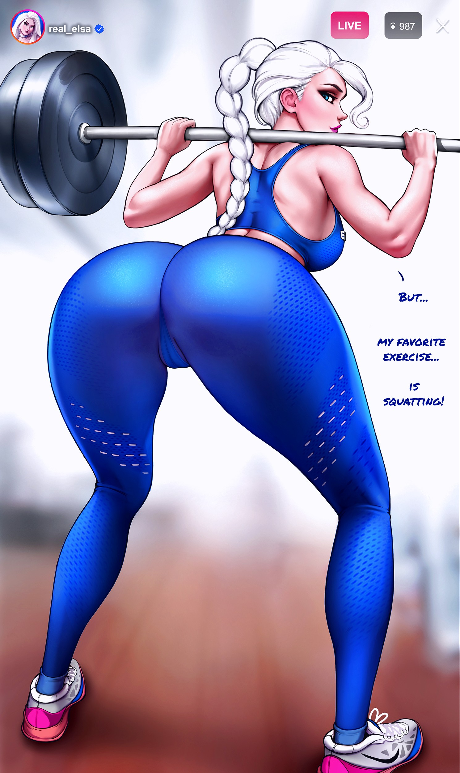 How to train your ass with Elsa page 07