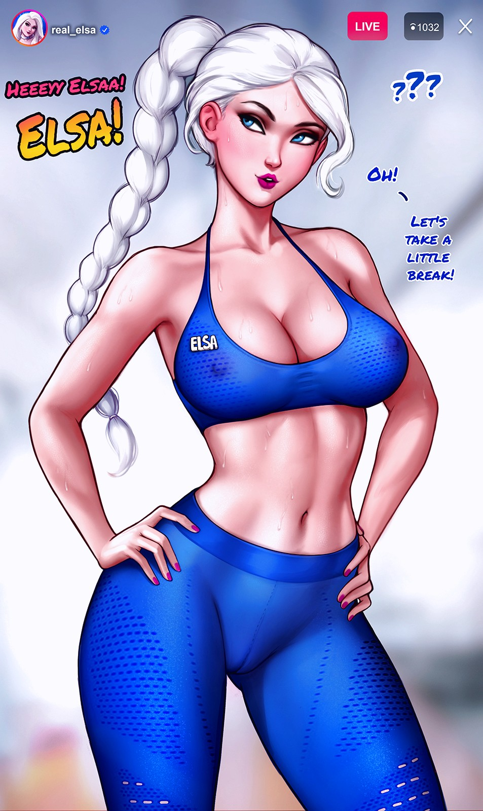 How to train your ass with Elsa page 09
