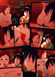 Kissing Practice porn comic page 001 on category Avatar: The Last Airbender