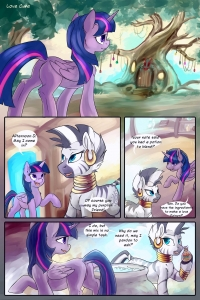 Love Cure porn comic page 01 on category My Little Pony