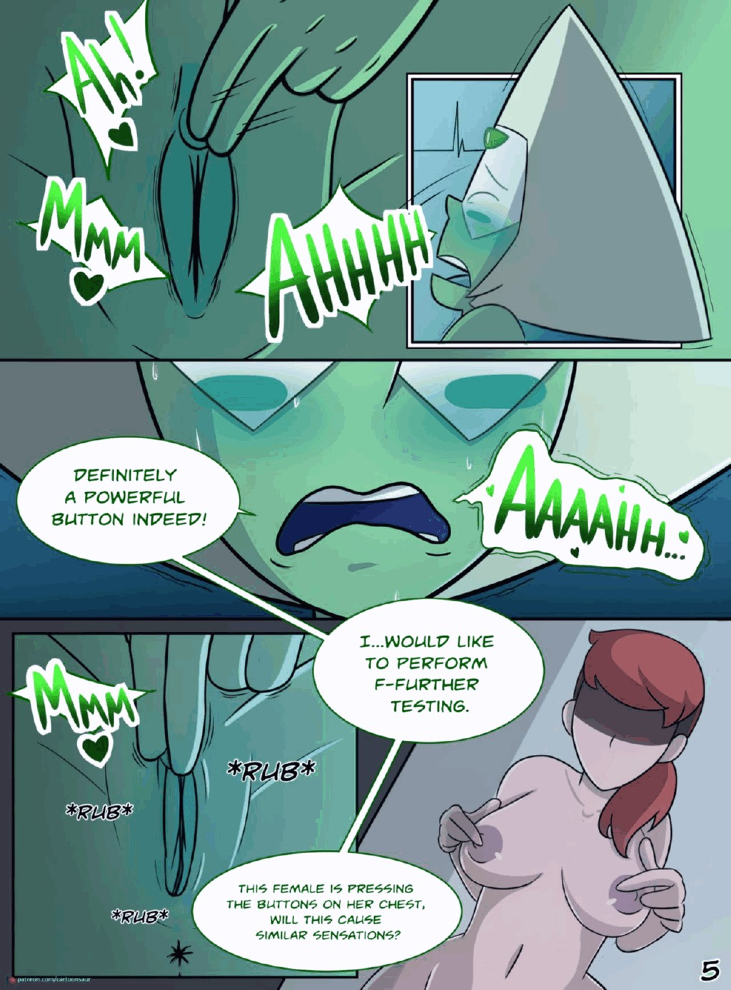 Peridot Experiments porn comic page 006