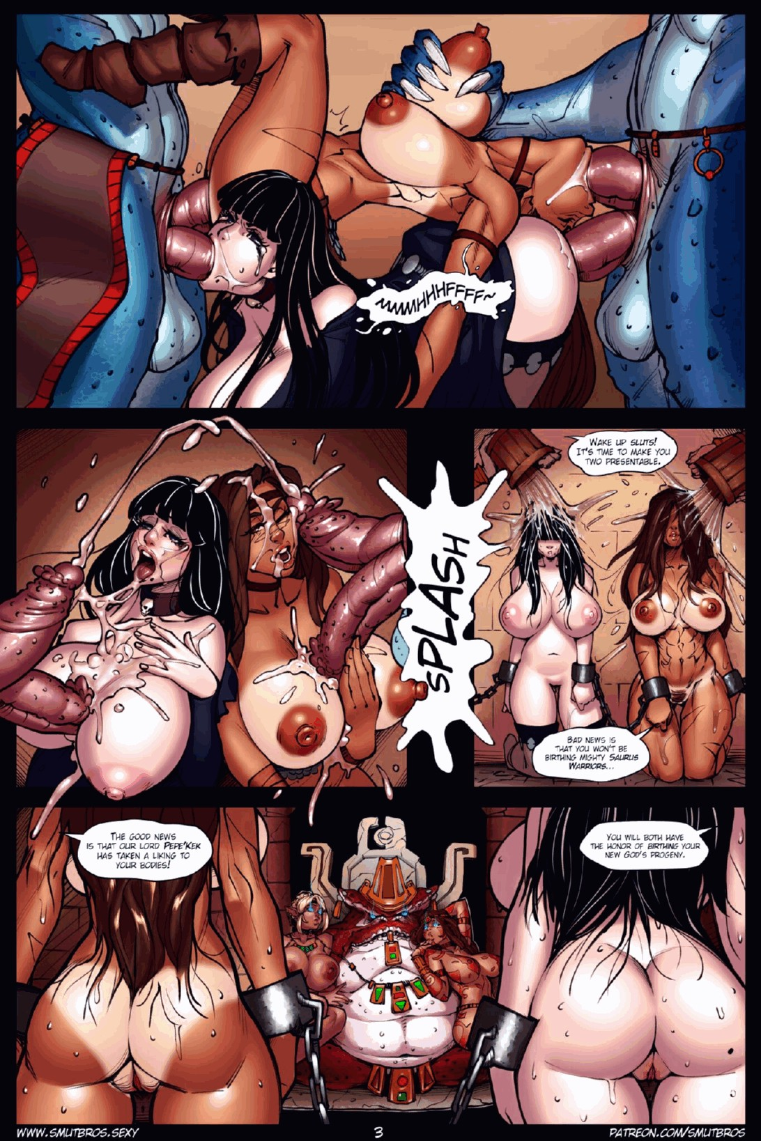 Raiders of the Lost Shadilay porn comic page 003