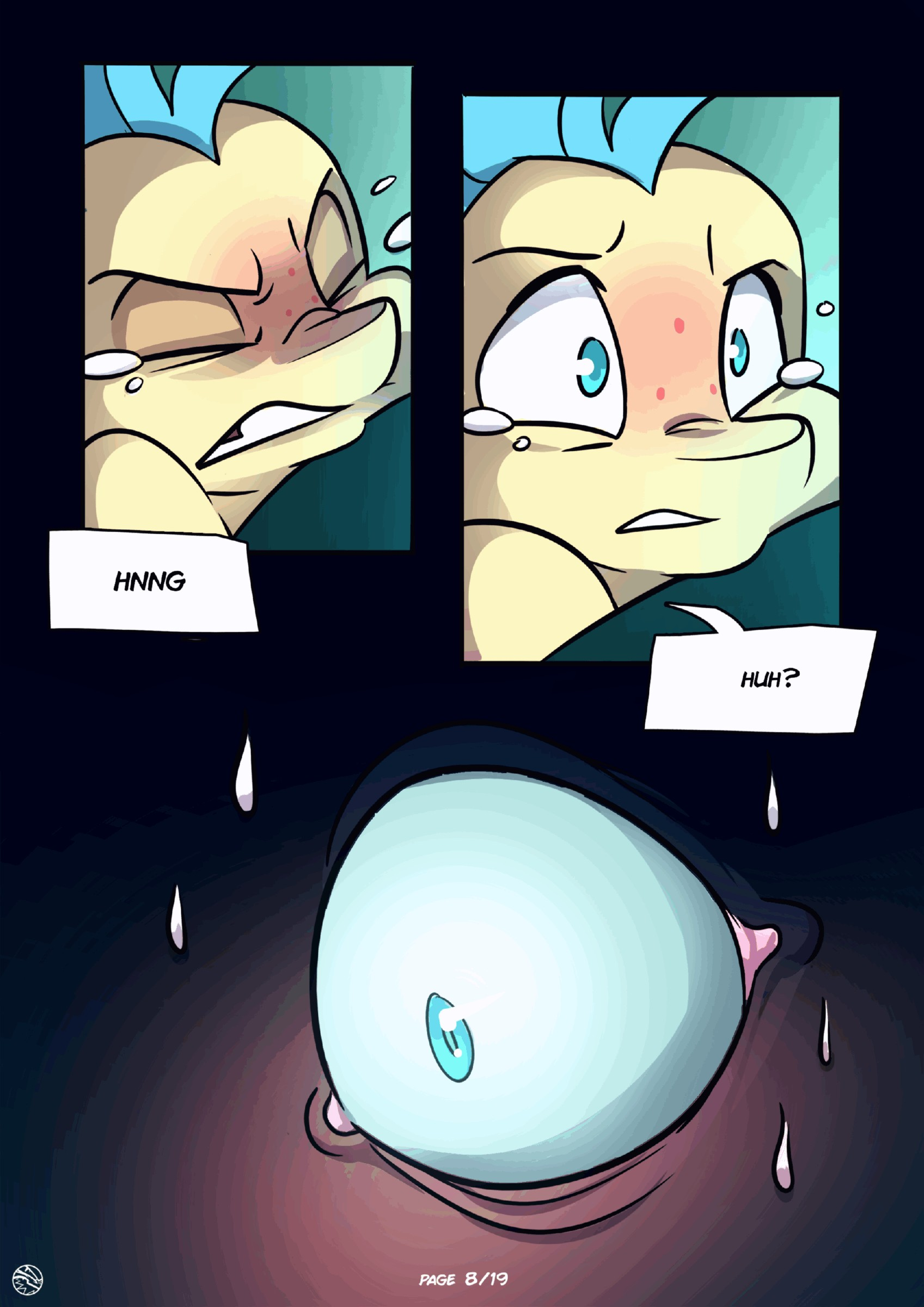 Sea shells porn comic page 008