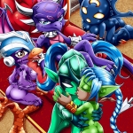 Skylanders Sex Squad porn comic page 001 on category Skylanders