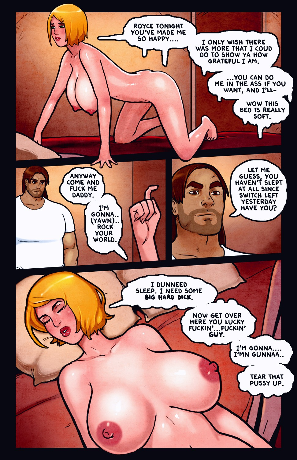 Switch porn comic page 142