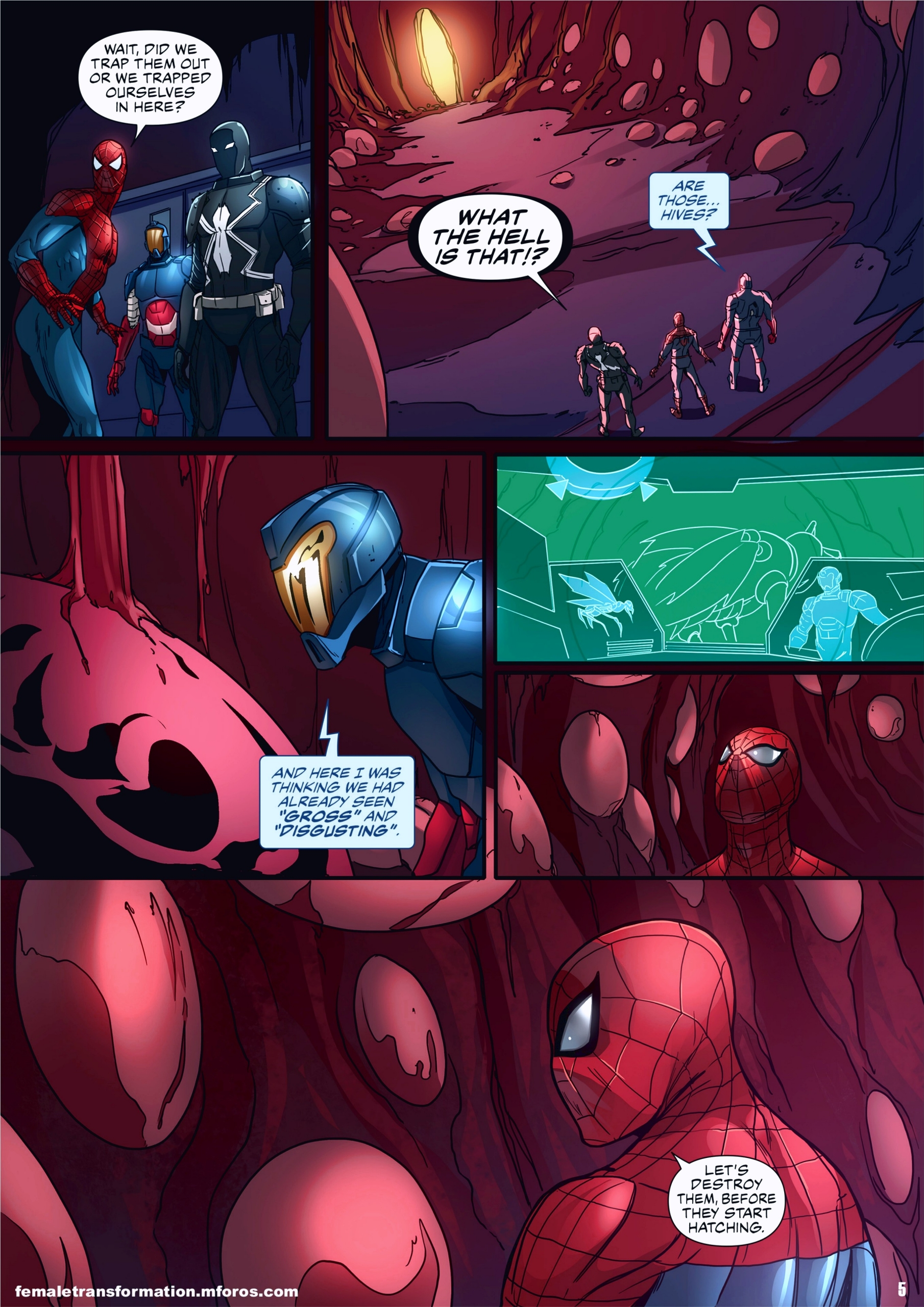 Symbiote Queen 2 page 06